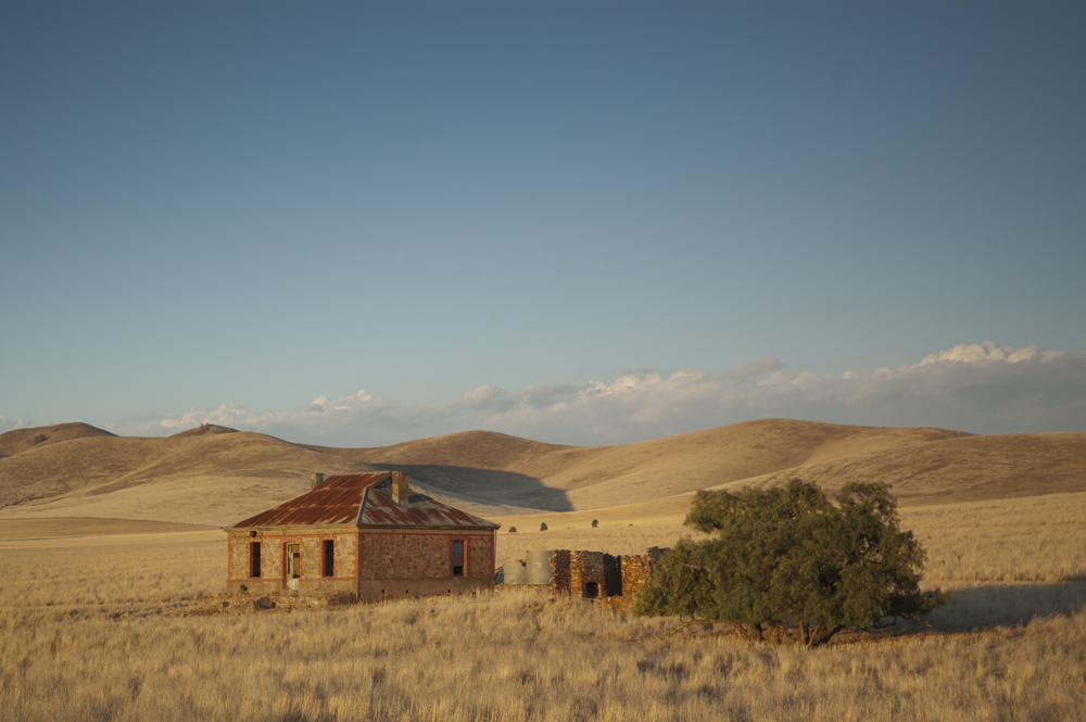 Deserted farmhouse in the mid North of South Australia near Burra