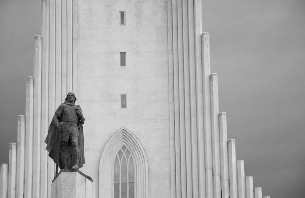Hallgrimskirkja church, Reykjavik, Iceland.