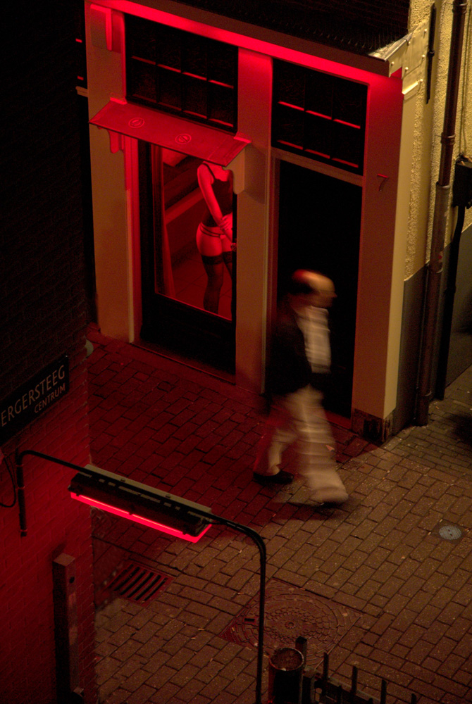 Red Light District, Amsterdam, Netherlands.