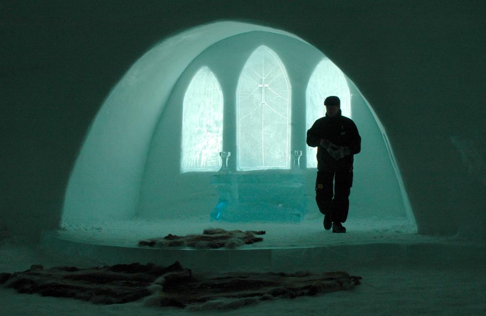 Icehotel, Jukkasjärvi, Sweden.